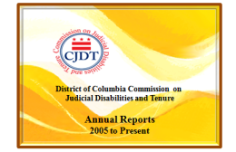 CJDT Annual Reports with logo
