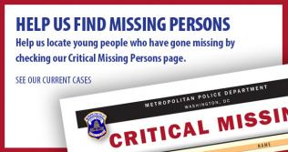 Help Us Find Missing Persons